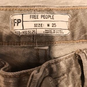 Free people grey jeans